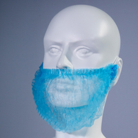 High Quality Cheap Double Loop Non Woven Disposable Beard Cover