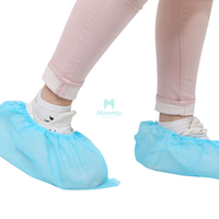 Disposable Non-Woven Anti-Skid Shoe Cover