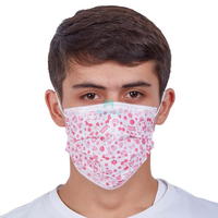 Dental Hospital Germ Protection Protective Medical 3 Ply Disposable Surgical Face Mask with Custom Pattern