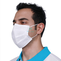 Hygienic Procedure Dust Proof Chirurgical Disposable Face Mask