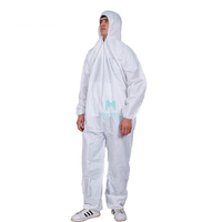 Disposable Painting Spraying Breathable Work Wear Sterile Waterproof Microporous Coverall
