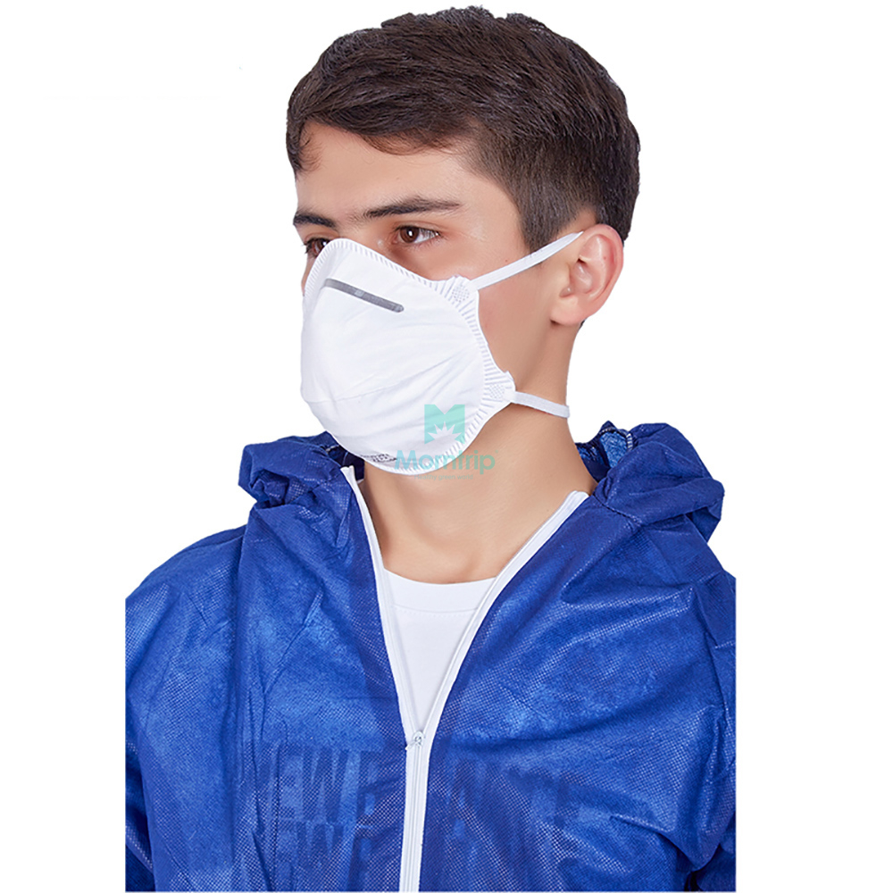 Industry Food Protective Panting Disposable Ce Certificated Splashproof Overall Suit Breathable Chemical Resistant Clothing
