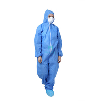 Dustproof Panting Spraying Full Body Overall Safety Anti Static Type 6 Protective Clothing