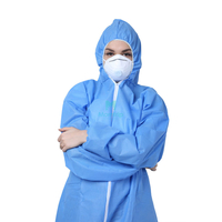 High Quality SMS Non Woven Laminated Isolation Disposable Protective Coverall