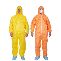 Industry Food Chemical Panting Disposable Splashproof Overall Suit Coverall Protective Clothing