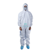Breathable Hooded Dustproof Splashproof Ce Certificated Work Wear Coverall Protective Clothing