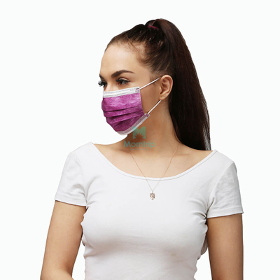 Customized Wholesale 3 Ply Non Woven Protective Disposable Face Mask