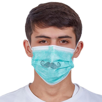 Dental Hospital Protective 3 Ply Non Woven Customized Disposable Face Mask