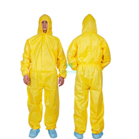 Panting Spraying Full Body for Industry Food Anti Static Dustproof Nonwoven Splashproof Safety Protective Clothing