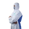 Microporous Combined with SMS Breathable Hooded Dustproof Splashproof Ce Certificated Work Wear Overall Suit Clothing