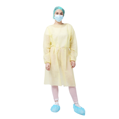 Elastic Cuff PP Medical Isolation Gown