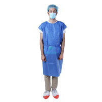 No Sleeve Isolation Gown