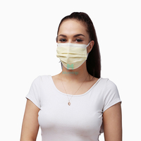 Hygienic Non Sterile Comfortable Pleated Dustproof Disposable Face Mask