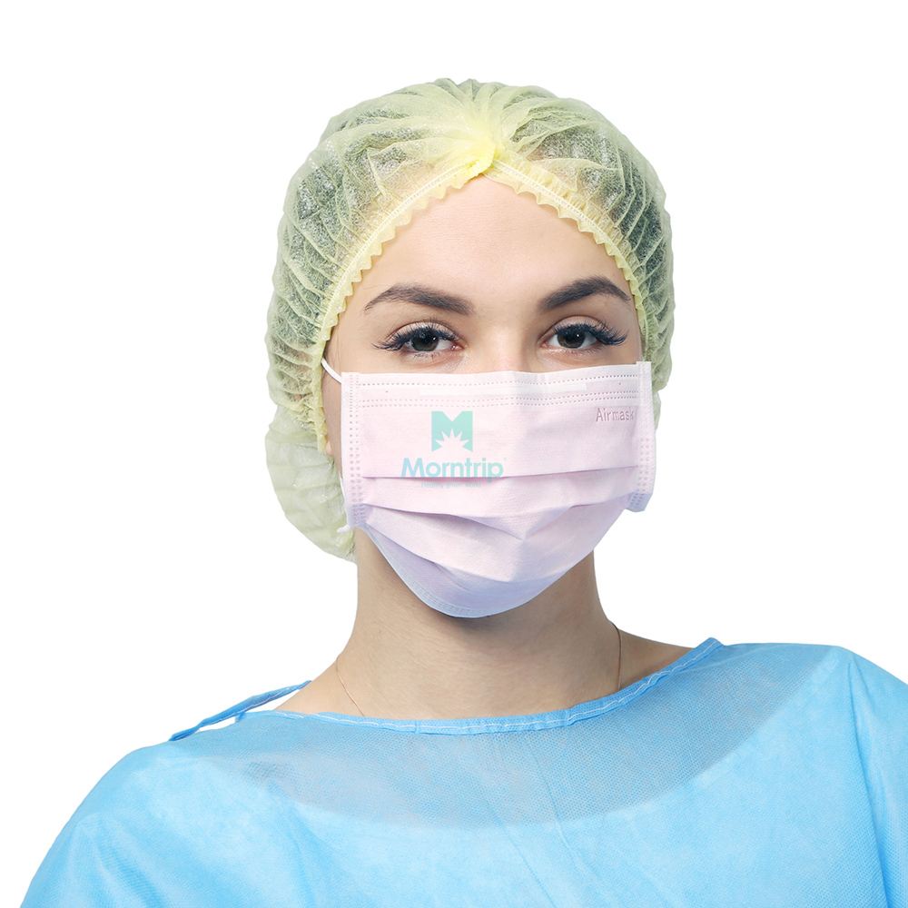 3 Ply Impervious Non Woven Breathable Anti Pollen Protective Face Mask