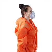 Morntrip NIOSH Approved Folding Respirator Mask With Valve