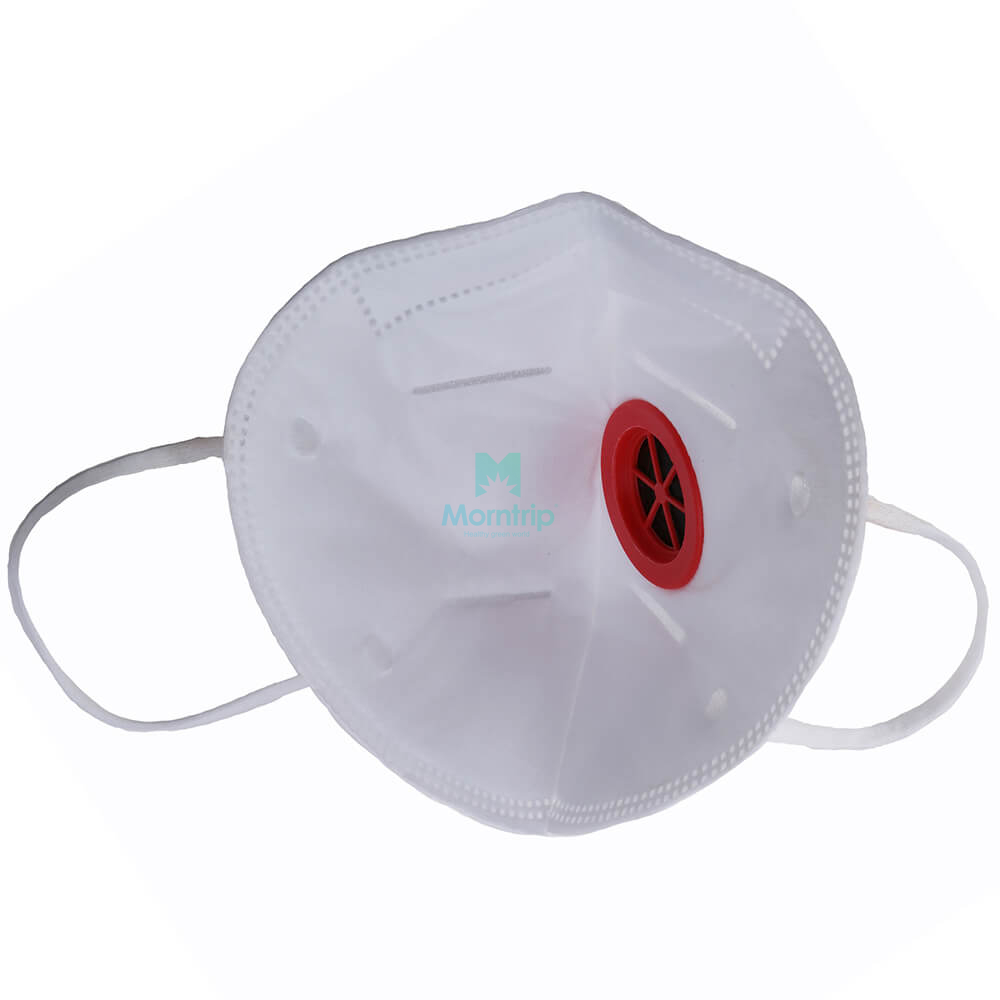 Morntrip Wholesale Vertical Fold Respirator with valve