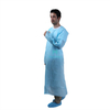 Waterproof Plastic Sanitary Apron Non Sterile Disposable CPE Isolation Gown with Thumb Loop
